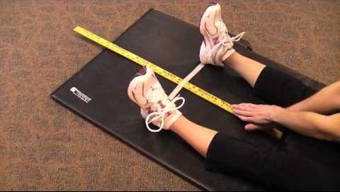 Trunk Flexion Test