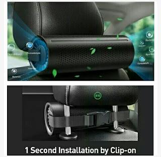 Air Cleaner Purifier - Baseus Vehicle Carbon Odor Eliminator
