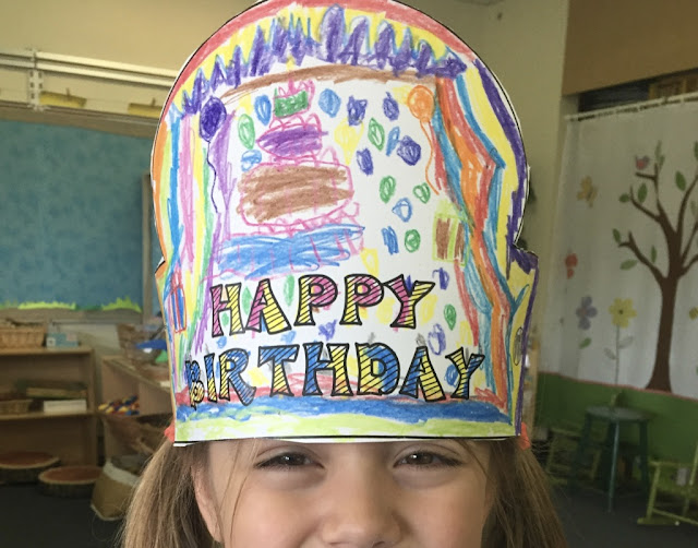kindergarten birthday hat crown