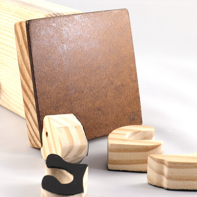 Handmade Wooden Toy Tray Puzzle, Black Kitten, Very Easy To Assemble, Finished Non-toxic Acrylic Paint and Amber Shellac Back