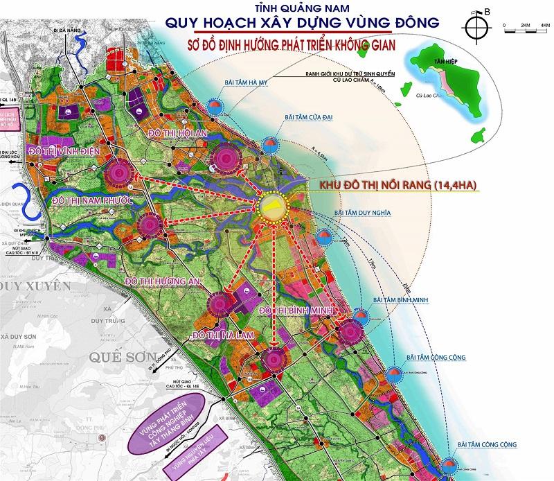 Vị trí dự án Nam Hội An City
