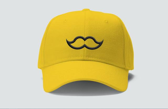 mockup-topi-psd-kuning