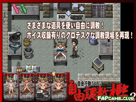 Freestyle Basement Torture 2 (自由調教の檻2)