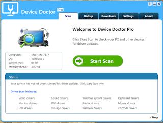تبيت و تفعيل أقوى برنامج في تحديث تعارف الحاسوب Device Doctor Pro 2016