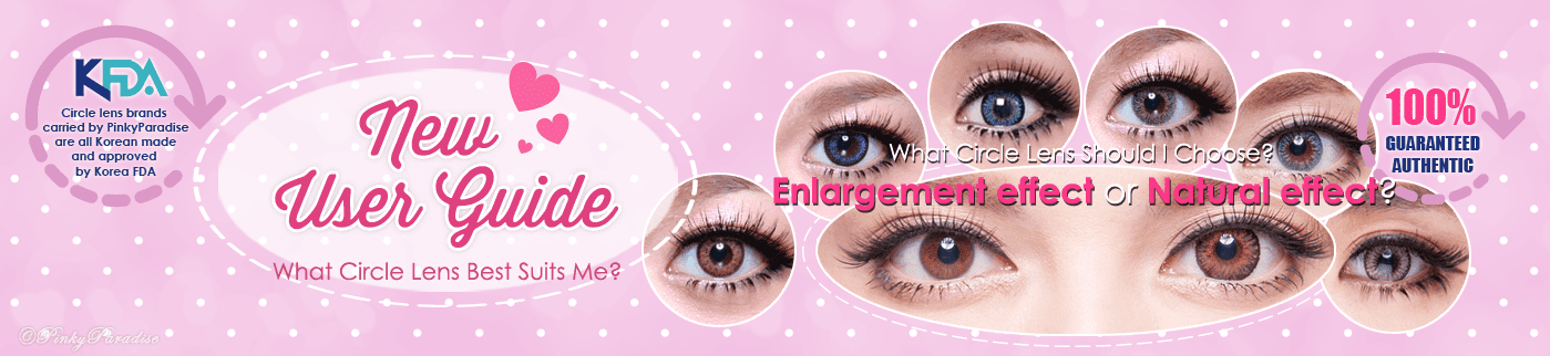 Colored Contacts & Circle Lenses User Guide