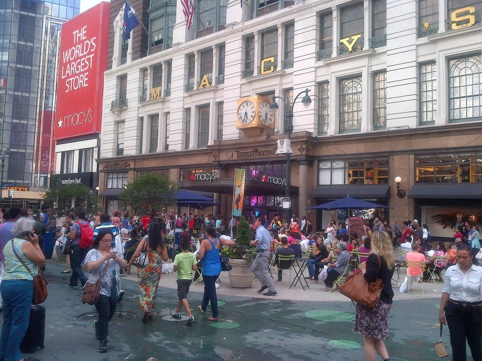 Macys Herald Square Floor Plan