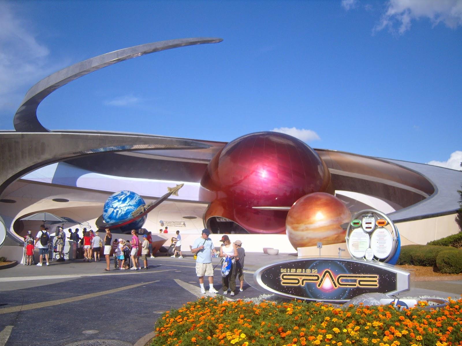 Parque Disney Epcot em Orlando - Mission Space