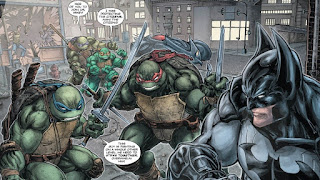 Batman / Teenage Mutant Hero Turtles