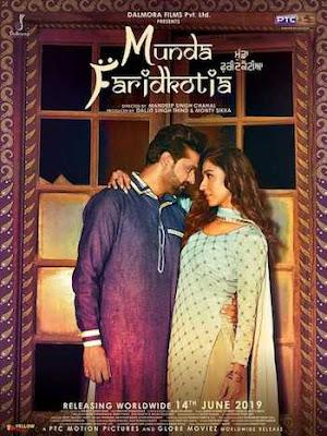 Munda Faridkotia 2019 Punjabi 720p WEB-DL 999mb