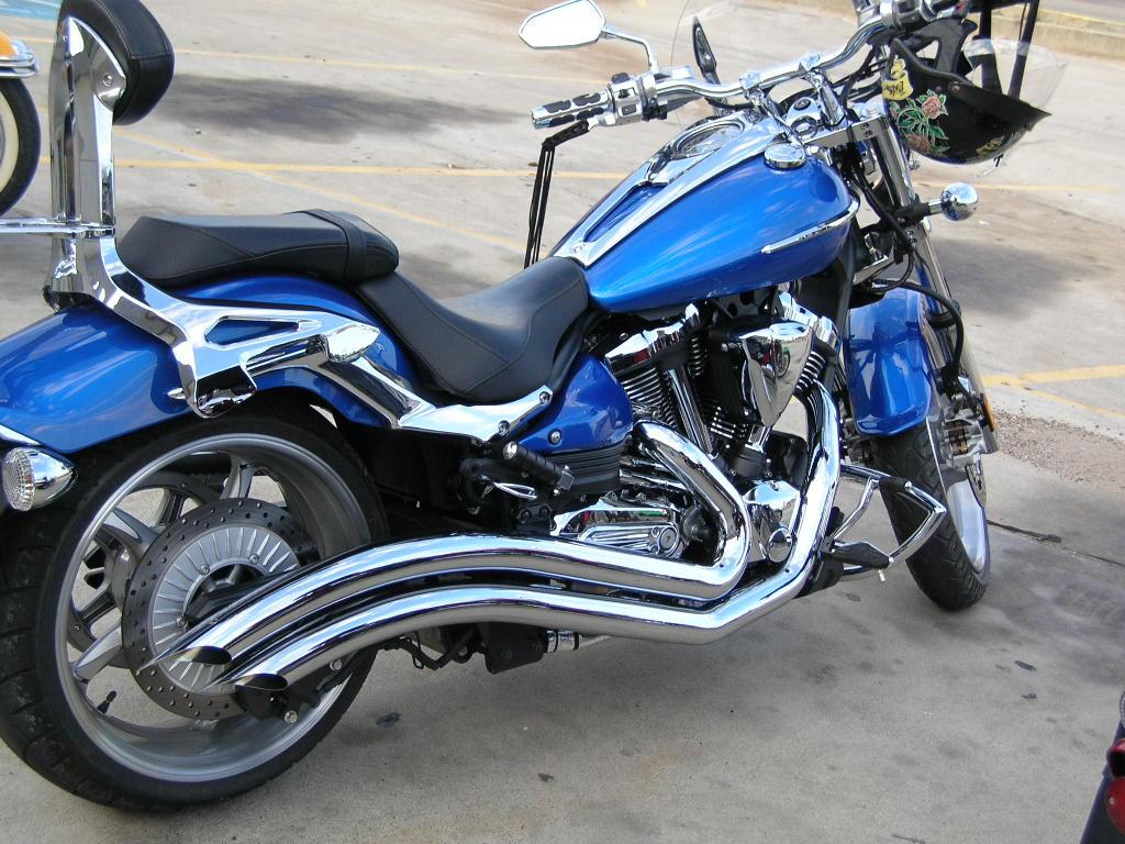 Yamaha Stryker Backrest