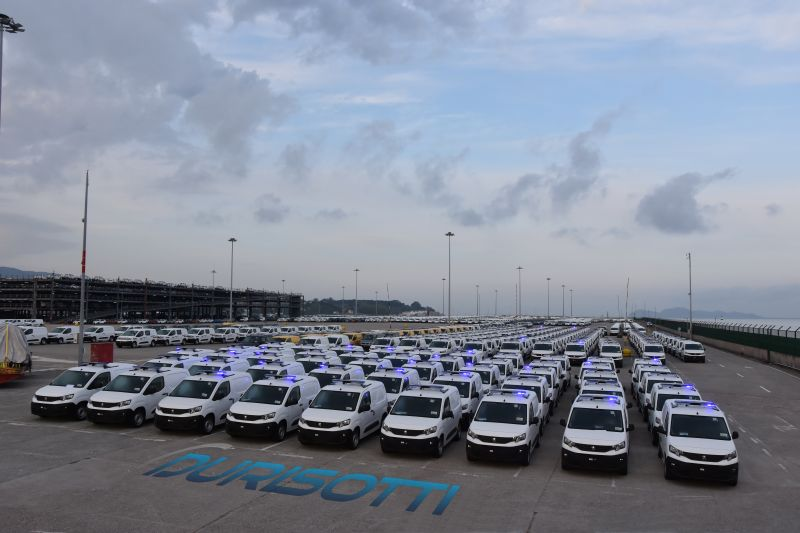 سيارات الأمن الجزائري الجديدة
