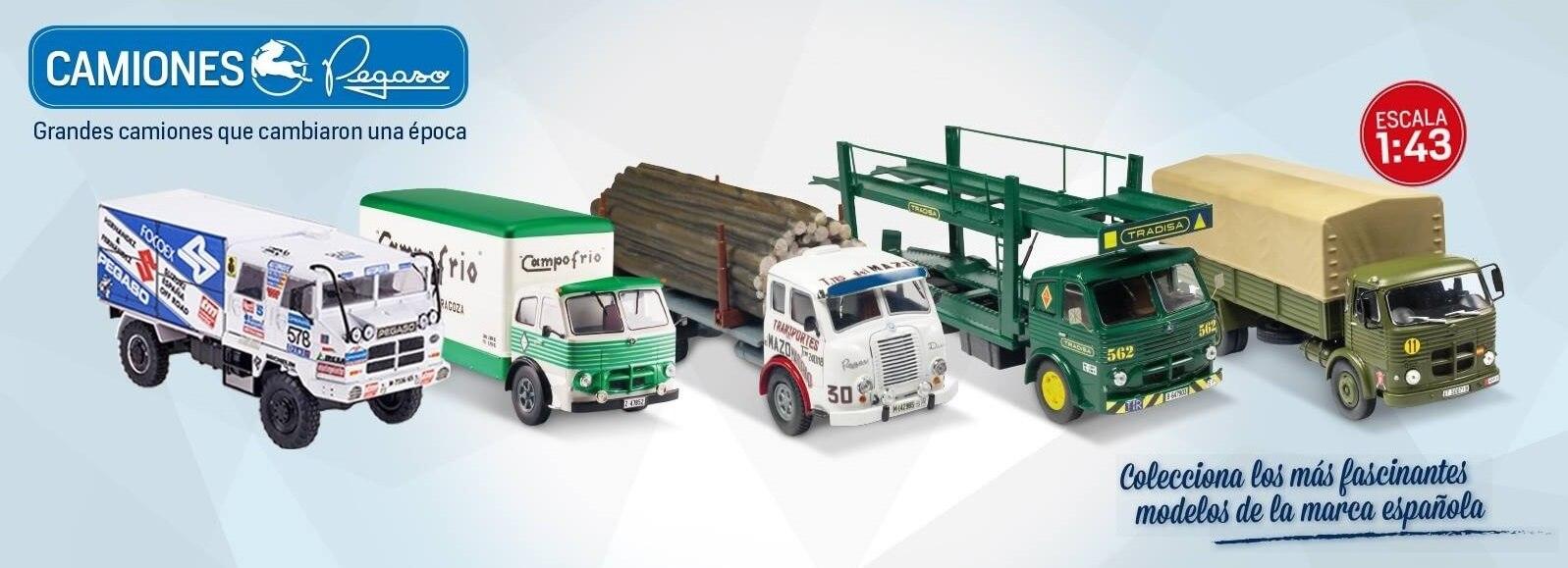 camiones pegaso coleccion