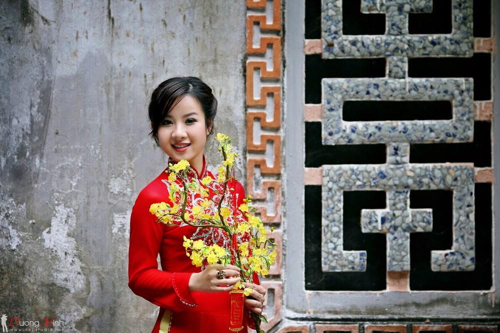 Ảnh đẹp girl xinh Áo dài truyền thống Việt Nam - Ảnh 01