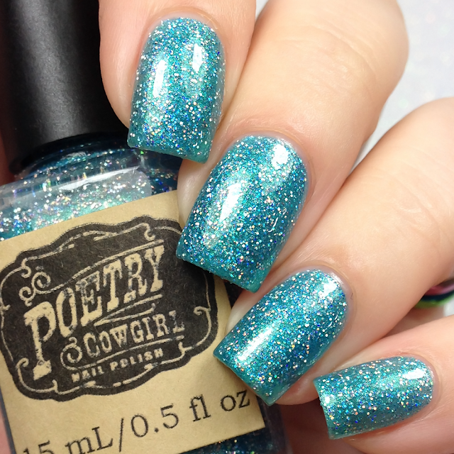 Poetry Cowgirl Nail Polish-Dibs On The Mustang