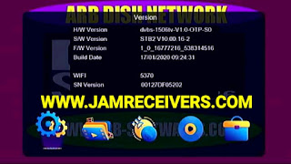 1506TV STB2 Latest Menu Software Update With DQCAM and IPTV 2020