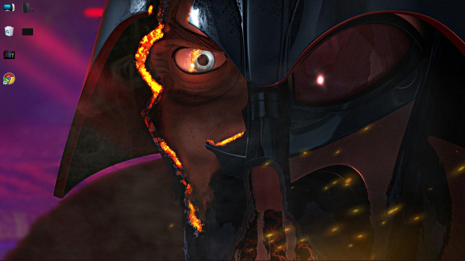 Wallpaper Engine Wallpaper Engine Darth Vader Broken Helmet Free Download