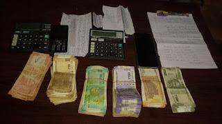 2 सटोरिये गिरफ्तार,  22 हजार 640 रूपये 2 मोबाईल जप्त
