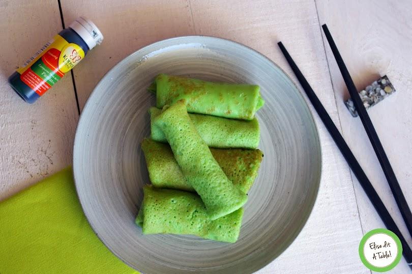 recette Crêpes indonesienne à la noix de coco