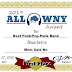 2019 ALL WNY AWARD: Best Punk/Pop-Punk Band: Mom Said No