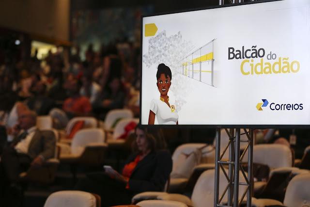 Correios passam a oferecer novos serviços com o Balcão do Cidadão