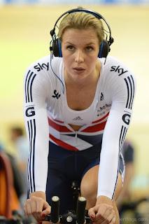 Cyclist Becky James