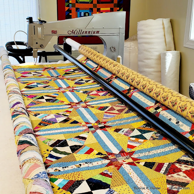 Repair Guys, Cows, Flowers & Quilts! (And a Gift-Away!)