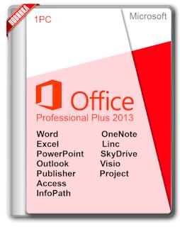 تحميل برنامج Microsoft Office 2013 SP1 Professional Plus July 2019 Free Download