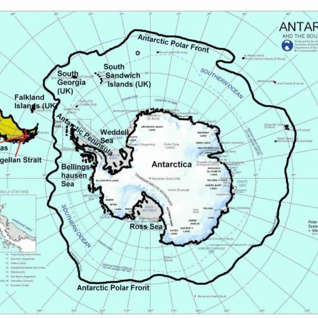 दक्षिण महासागर - southern ocean in Hindi