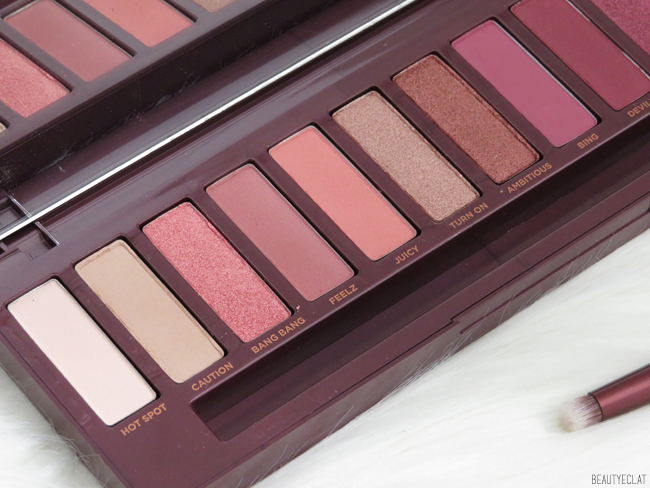 urban decay naked cherry détails fards