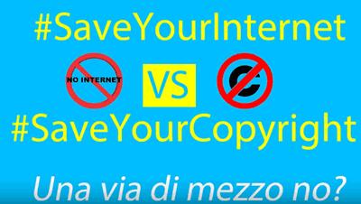 Save your internet, considerazioni sull'articolo 13 #saveyourinternet