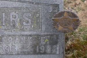 Grave of Frank E. Bellairs
