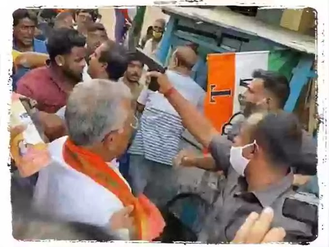 Violence Persists in Bengal: BJP Leader Dilip Ghosh and Arjun Singh attacked by TMC goons