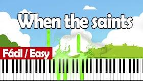 Cuando los santos marchan (when the saints go marching in) - Piano PDF - Notas musicales