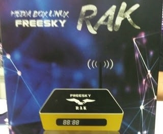 FREESKY RAK NOVA ATUALIZAÇÃO V2509 - 17/08/2019