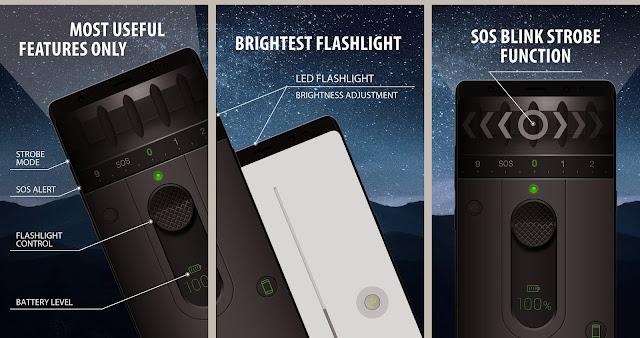 color led flashlight