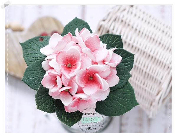 Foamiran Flowers Full of Love / Foamiranowe Kwiatki pełne Miłości