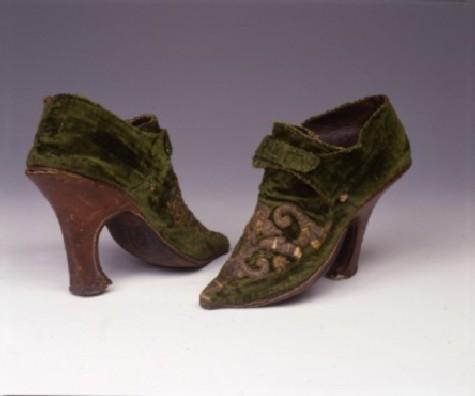 scarpe del settecento