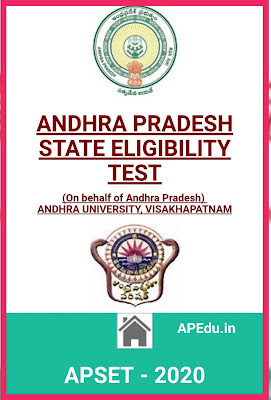 ANDHRA PRADESH STATE ELIGIBILITY TEST  APSET - 2020