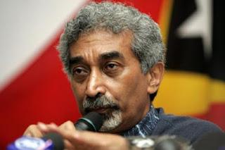 East Timor Prime Minister, Mari Alkatiri