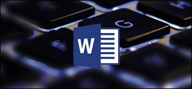أفضل اختصارات لوحة المفاتيح لبرنامج مايكروسوفت وورد