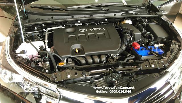 Động cơ Toyota Corolla Altis 1.8G MT