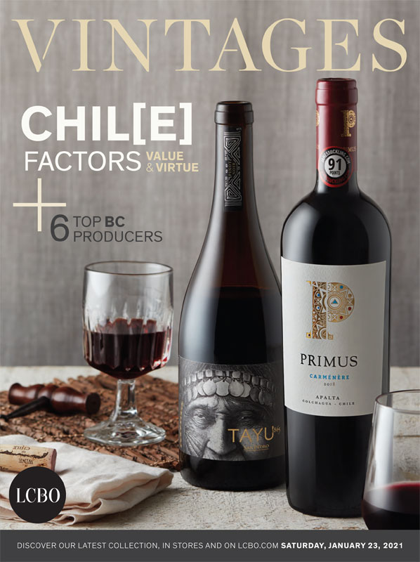 LCBO Wine Picks: January 23, 2021 VINTAGES Release