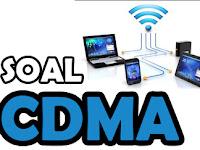 Pertanyaan dan Jawaban tentang CDMA (Jaringan Nirkabel)