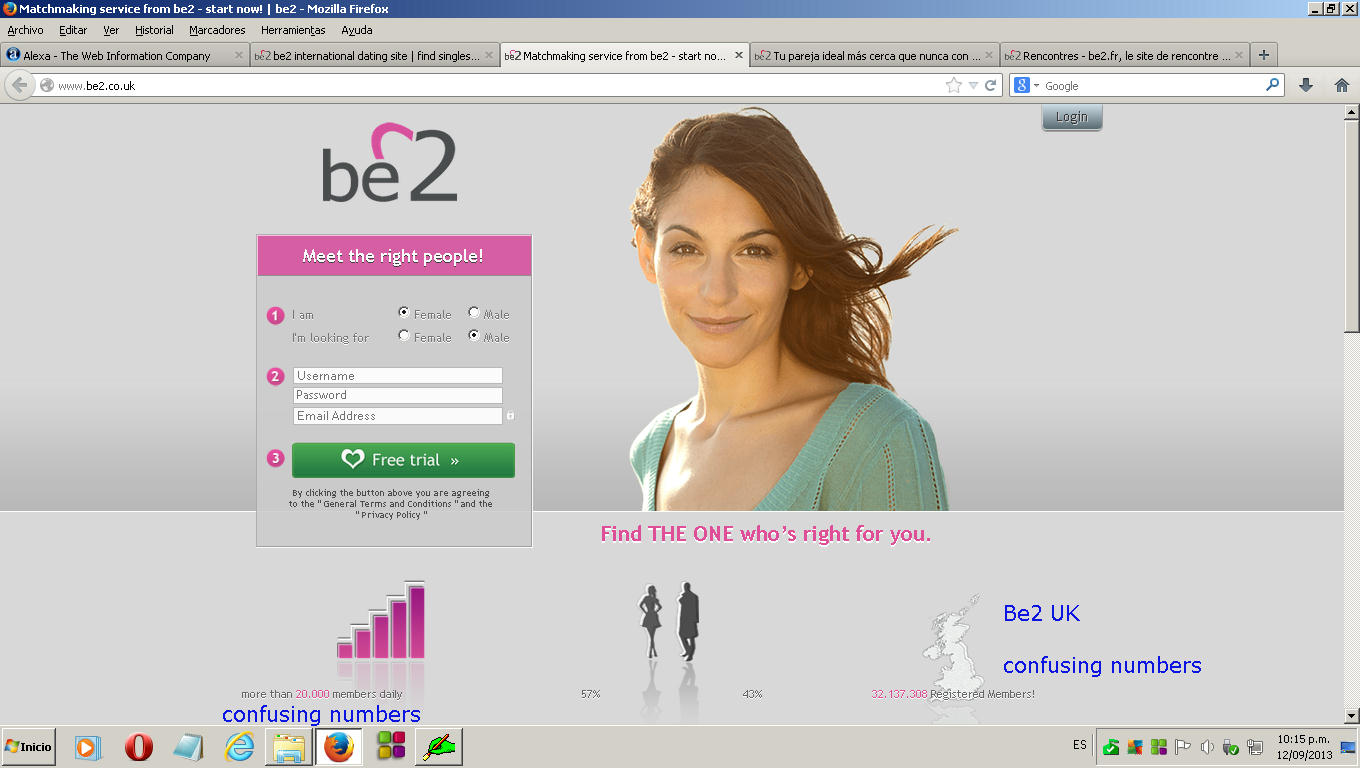be2 dating site south africa