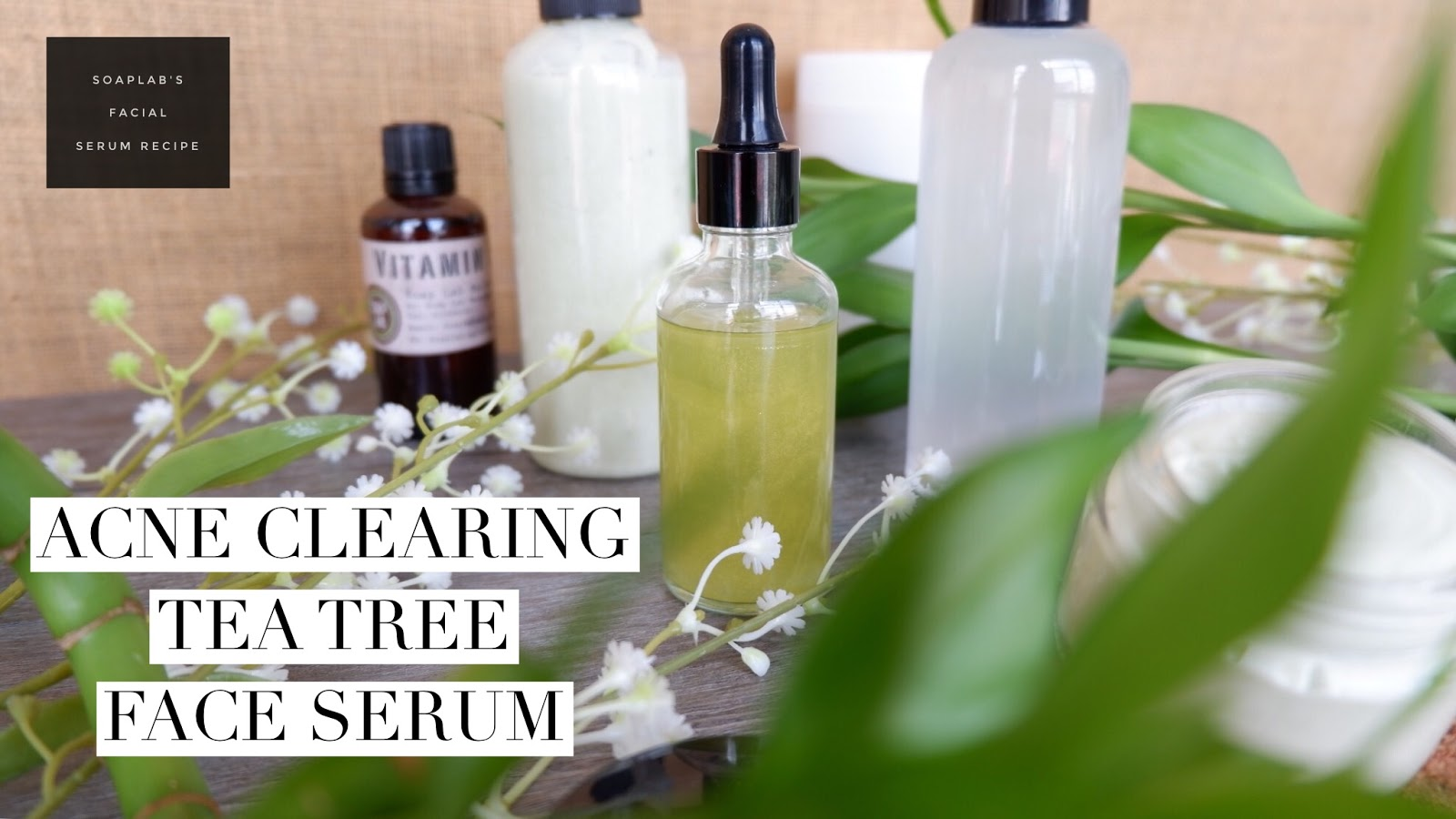 SoapLab Malaysia: How To Make: Anti Acne Face Serum Using