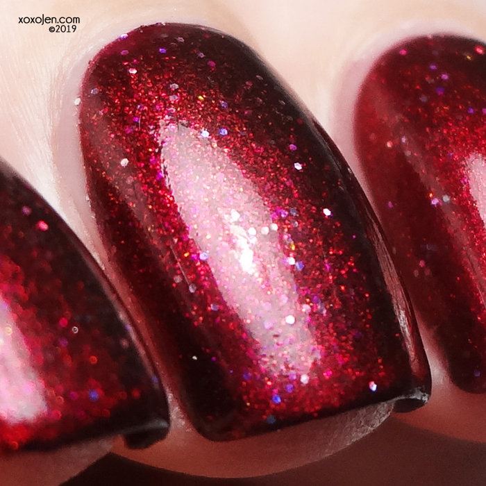 xoxoJen's swatch of Glam Polish Without Passion… We'd Truly Be Dead
