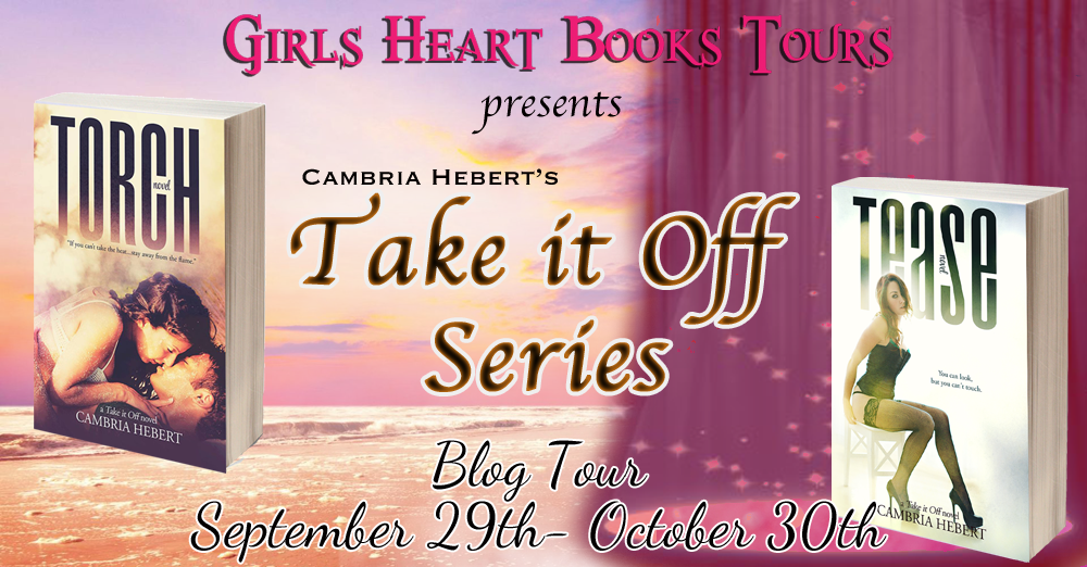 Blog Tour Stop Take It Off Series By Cambria Hebert