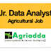 Junior Data Analyst | Agricultural Job