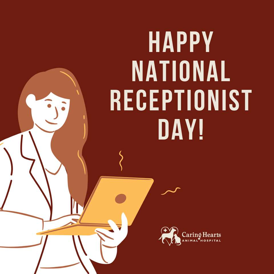 National Receptionists Day Wishes Unique Image