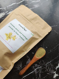 Greenie Mill Avaram senna and moringa powder to foam cleanser Review